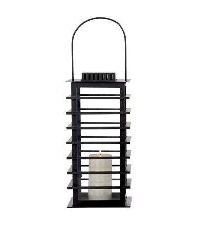 Torre & Tagus Large Sonoma Lantern, Black