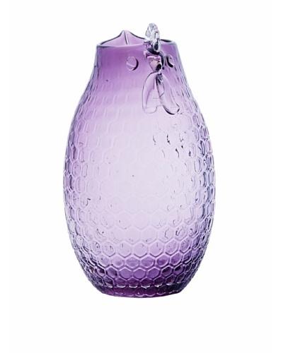 Torre & Tagus Glass Hen Vase, Lavender