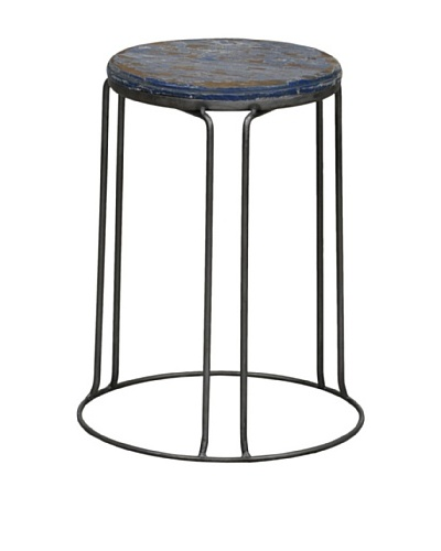 Tottenham Court Garcia Stool, Blue
