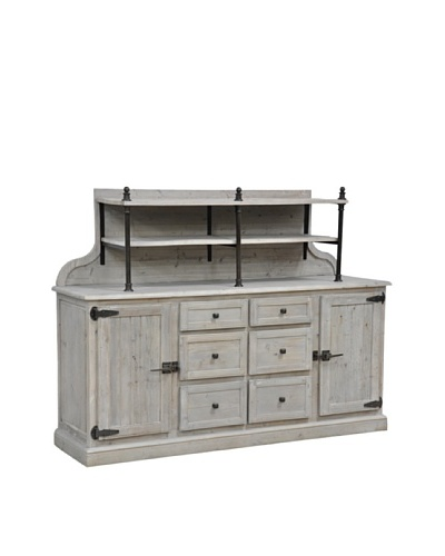 Tottenham Court Ava Sideboard, Natural Grey