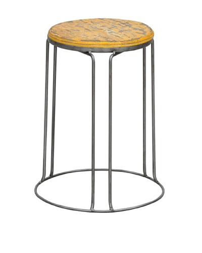 Tottenham Court Garcia Stool, Yellow