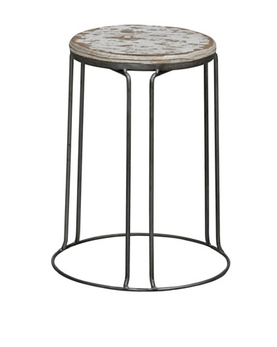 Tottenham Court Geary Stool, White