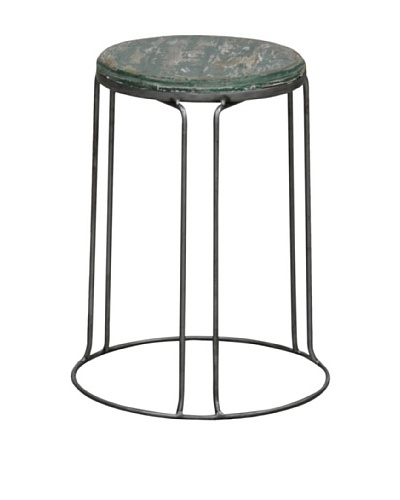 Tottenham Court Garcia Stool, Green