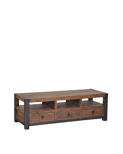 Tottenham Court Jaden 3-Drawer Coffee Table, Natural