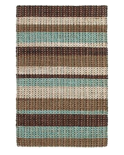 Tottenham Court Braided Stripe Rug, Multi, 2' x 3'