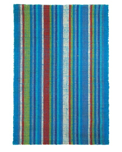 Tottenham Court Bermuda Stripe Ocean Breeze Rug