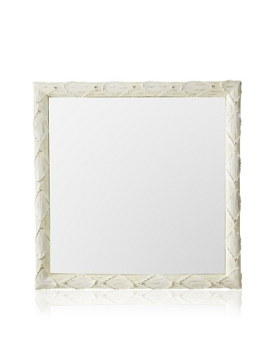 Tozai Acanthus Wall Mirror, Cream