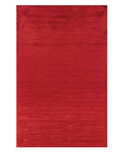Trade-Am Satori Bamboo Viscose Silk Rug [Red]