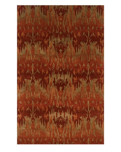 Trade-Am Majestic Rectangle Rug [Red]