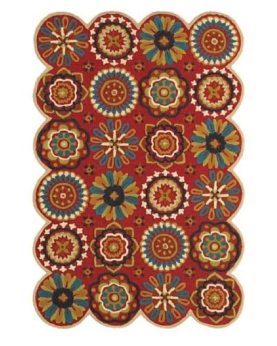 Trade-Am Dazzle Floral Rug