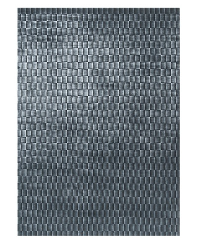 Trade-Am Illusion Bamboo Viscose Silk Rug [Blue]