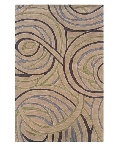Trade-Am Fashion Swirls Rug