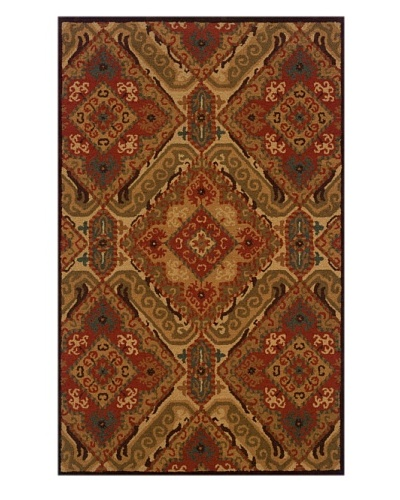 Trade-Am Dazzle Rectangle Rug [Red]