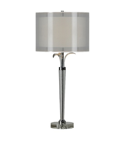 Grace Table Lamp, Silver