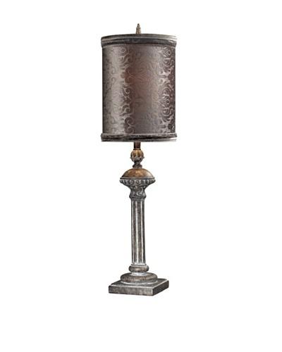 Norfolk Distressed Table Lamp, Restoration Grey