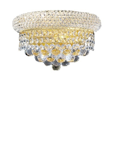 Worldwide Lighting Empire Wall Sconce, Gold