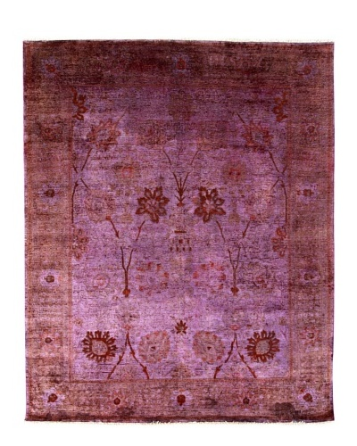 nuLOOM Vintage Hand-Knotted Overdyed Rug