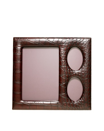 Trafalgar Crocodile-Embossed Picture Frame