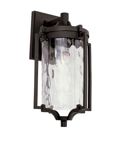 Trans Globe Lighting Coastal Sea Wall Lantern, Black, 16