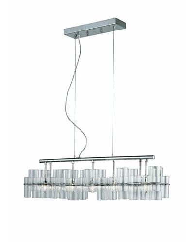Transglobe Lighting Contemporary Rectangle Pendant