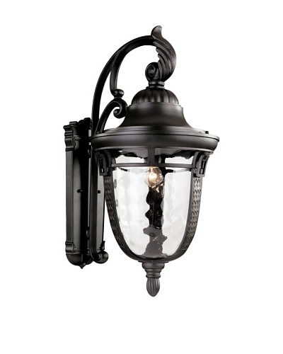 Trans Globe Lighting Braided Roman Wall Coach, Oil-Rubbed Bronze, 26""
