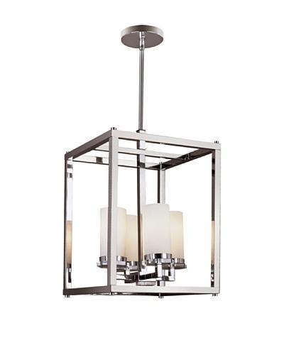 Trans Globe Lighting Pop Indie Foyer Pendant Light, Polished Chrome