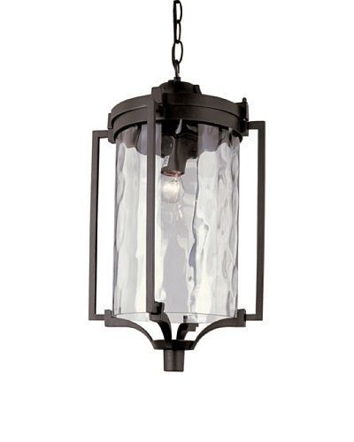 Trans Globe Lighting Coastal Sea Hanging Lantern, Black, 19