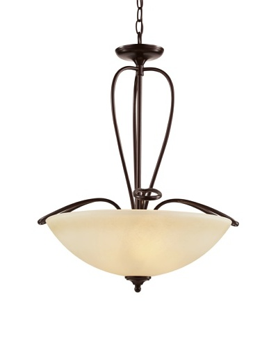 Trans Globe Lighting Pullman 20 Pendant, Rubbed Oil Bronze