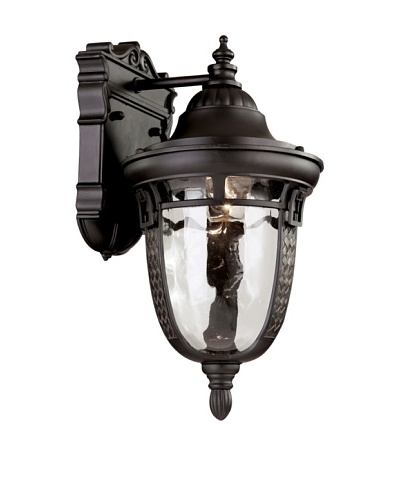 Trans Globe Lighting Braided Roman Wall Bracket, Oil-Rubbed Bronze, 14