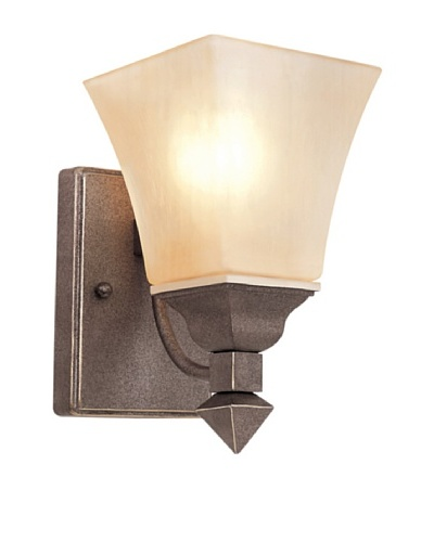 TransGlobe 1 Light Wall Sconce