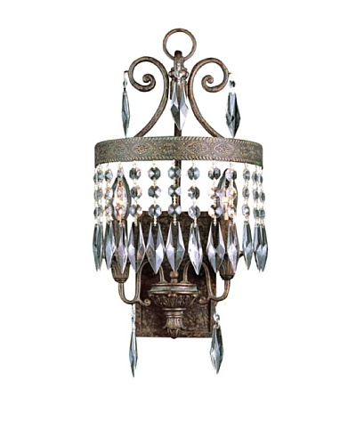 TransGlobe 2 Light Wall Sconce