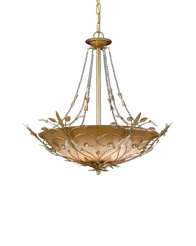 Tabitha Chandelier with Swarovski SPECTRA Crystals, Gold