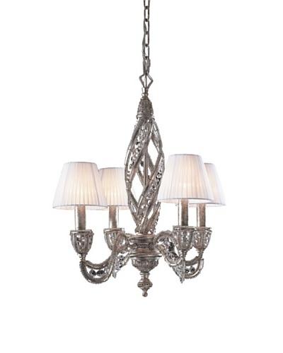 ELK Lighting Renaissance 4-Light Chandelier, Sunset Silver