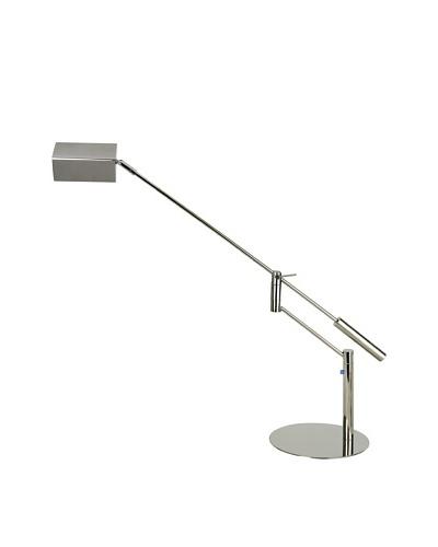 Trend Lighting Slant LED Task Lamp, Polished Chrome