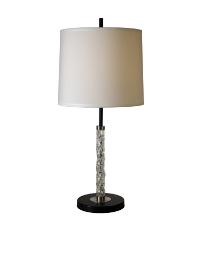 Trend Lighting Allegro Table Lamp, Matte Black