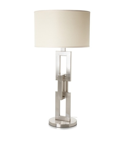 Trend Lighting Linque Table Lamp, Brushed Nickel