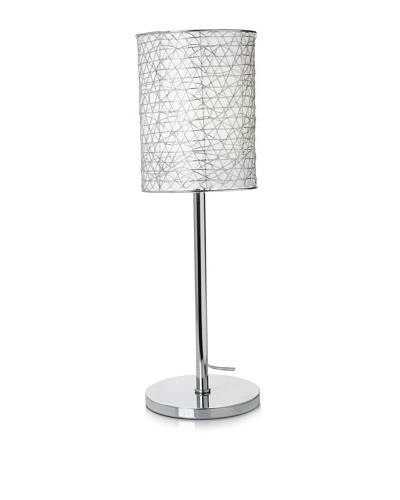 Trend Lighting Distratto Table Lamp, Chrome