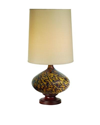 Trend Lighting Hitari Table Lamp, Walnut