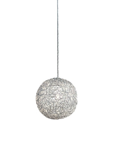 Trend Lighting Distratto Pendant, Polished Chrome