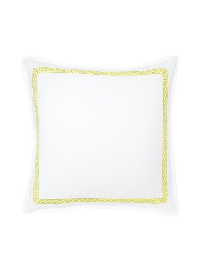Trina Turk Palm Springs Euro Sham, Yellow, 26 x 26