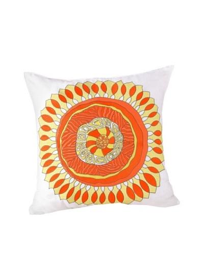 Trina Turk Wave Stripe Medallion Pillow, Multi, 20 x 20