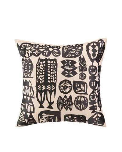 Trina Turk Manteca Embroidered Pillow, Black