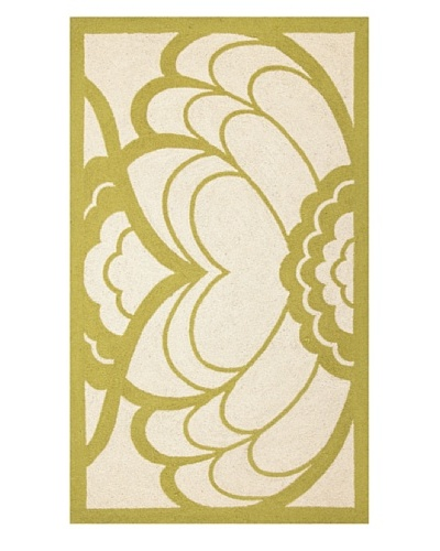Trina Turk Deco Floral Hook Rug