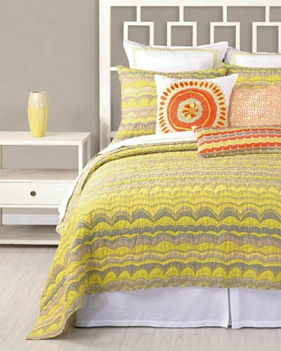 Trina Turk Wave Stripe Coverlet