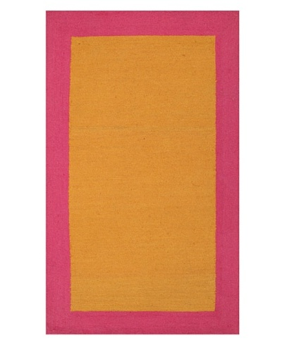 Trina Turk Rugs Bright Solid Hook Rug [Pink/Orange]