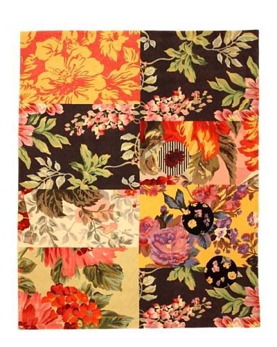 Tuleh Collage Rug, Multi, 8' x 10'