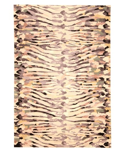 Tuleh The Bachelor Rug, Black/Cream Multi, 6' x 9'As You See
