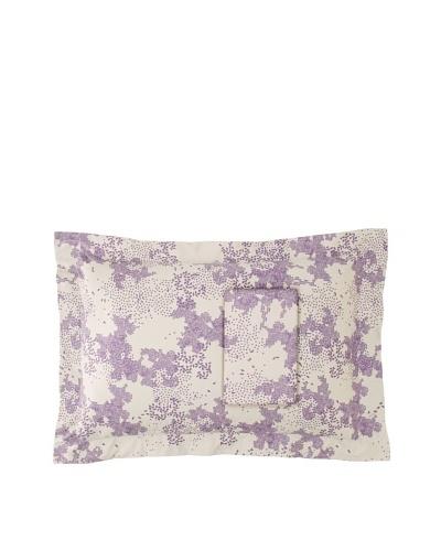 Twinkle Living Pair of Dew Pillow Shams [Dove/Plum]