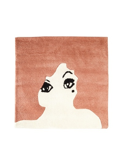 Twinkle Living Glamour Girl Rug [Dusty Rose]