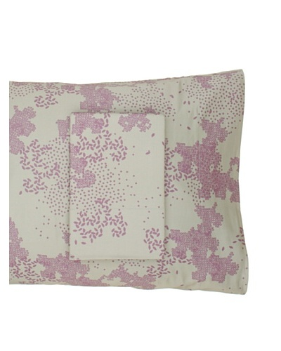 Twinkle Living Pair of Dew Pillowcases, Thistle/Basil, Standard
